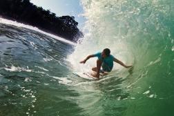 Surfing Panama
