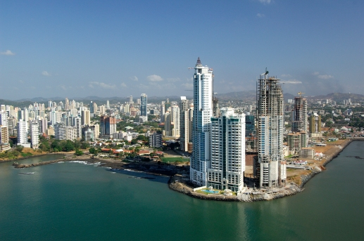 Panama City, the skyline