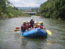 Rafting chiriqui rivers