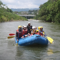 Rafting chiriqui rivers