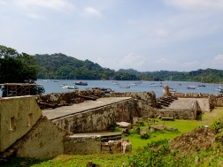 The three forts of Portobelo Bay form part of the defence system built by the Spanish Crown to protect transatlantic trade.