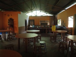 Dining hall and Kitchen