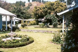 Courtyard of Panamonte Hotel, Boquete.