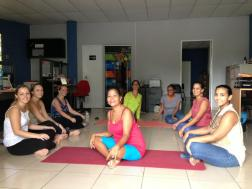 Office Yoga Session