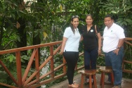 Karla, Mariela y Roberto