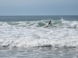 Surfing Palmar Beach