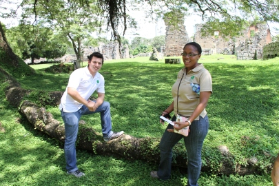 Fabio Trujillo y Laura Ramirez, staff team