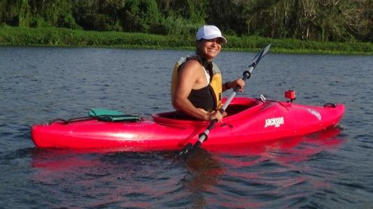 Kayaking the Gatun Lake