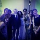 Annie Young J. from EcoCircuitos with Enrique Cerezo con fans en Panamá