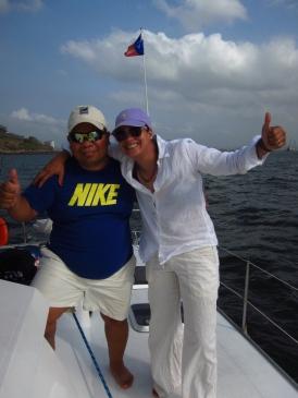 Roberto Jaén y Annie Young J.