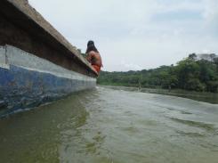 boat tour to Gatun community