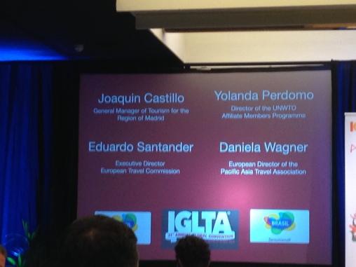 Panelist at IGLTA 31 Conference