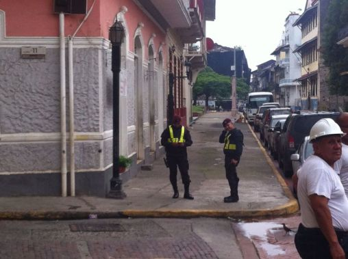 Security on San Felipe streets