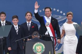President of Panama with Family