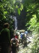 hiking the Mamony reserve