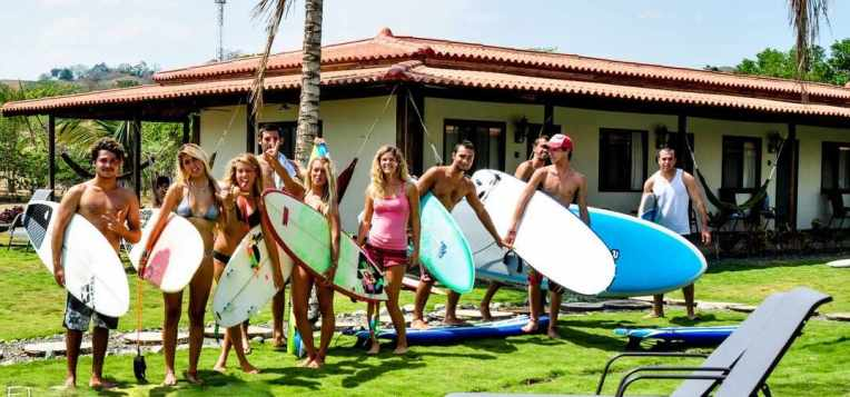 Surfcamp in Playa Venao resort hotel