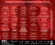 CALENDARIO CONCIERTOS PJF2016