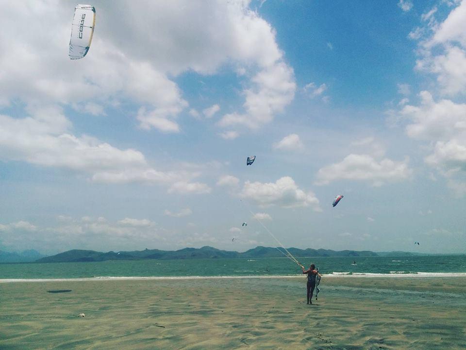 Carina Kitesurfing