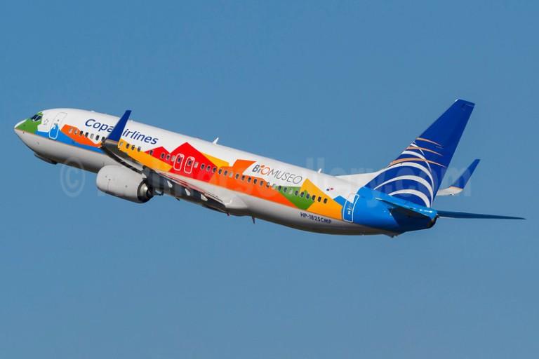 Copa Airlines 737-800 WL HP-1825CMP (12-BioMuseo)(Tko) GRU (RDC)(46)-L